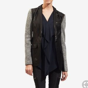 Cut25 by yigal Azrouel lamb  leather jacket